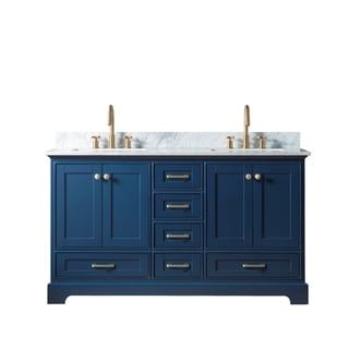 "60"" Solid Wood Sink Vanity Withiut Faucet"