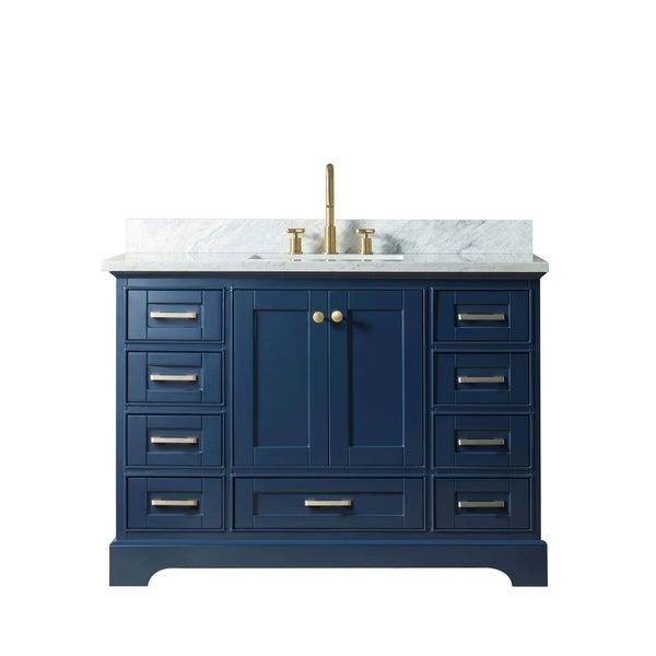 "48"" Solid Wood Sink Vanity Withiut Faucet"