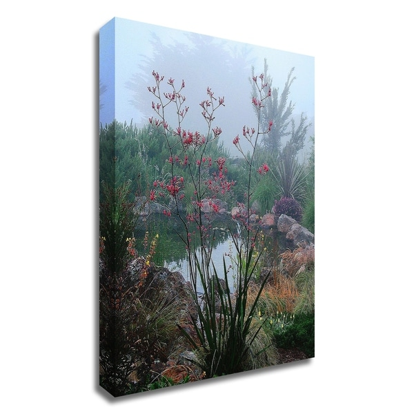 """""""Scarlet"""" by Lucy Aron, Print on Canvas, Ready to Hang"""