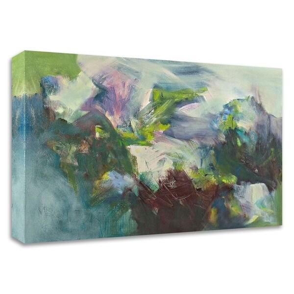"""En Verde"" by Emilia Arana, Print on Canvas, Ready to Hang"