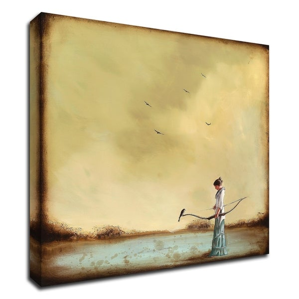 """""""Second Thoughts"""" by Alicia Armstrong, Print on Canvas, Ready to Hang"""