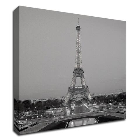 """Tour Eiffel 7"" by Alan Blaustein, Print on Canvas, Ready to Hang"