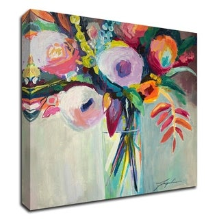"""""""Ode to Summer 7"""" by Jacqueline Brewer, Print on Canvas, Ready to Hang"""