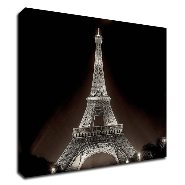 """Tour Eiffel 2"" by Alan Blaustein, Print on Canvas, Ready to Hang"