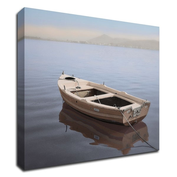 """""""Mediterranean Boat 2"""" by Alan Blaustein, Print on Canvas, Ready to Hang"""