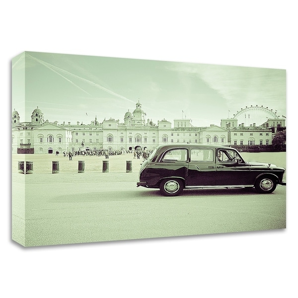 """Day Out London"" by Keri Bevan, Print on Canvas, Ready to Hang"