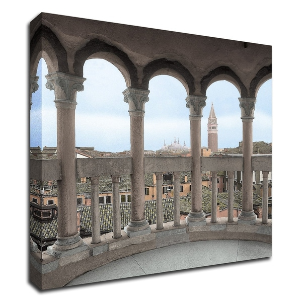 """""""Arches with Campanile Vista"""" by Alan Blaustein, Print on Canvas, Ready to Hang"""