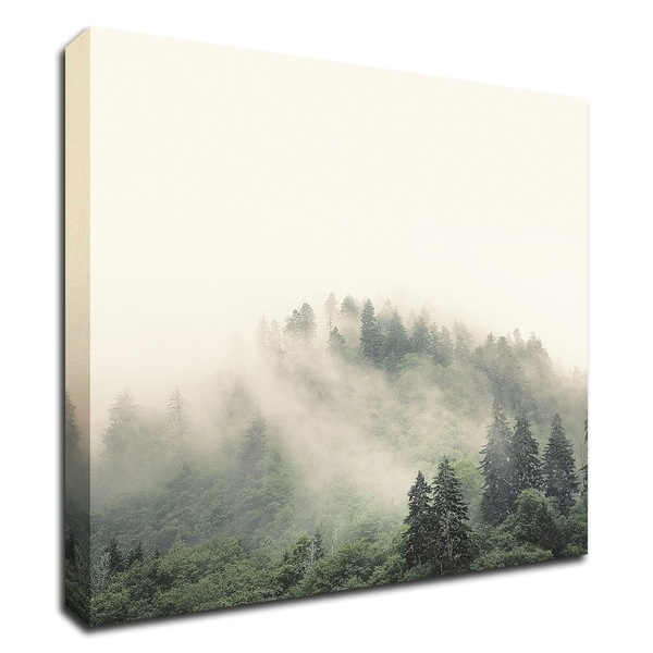 """Smoky Mountains"" by Nicholas Bell, Print on Canvas, Ready to Hang"