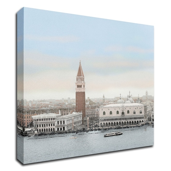 """Piazza San Marco Vista"" by Alan Blaustein, Print on Canvas, Ready to Hang"