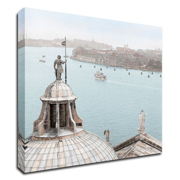 """San Giorgio Maggiore Duomo"" by Alan Blaustein, Print on Canvas, Ready to Hang"