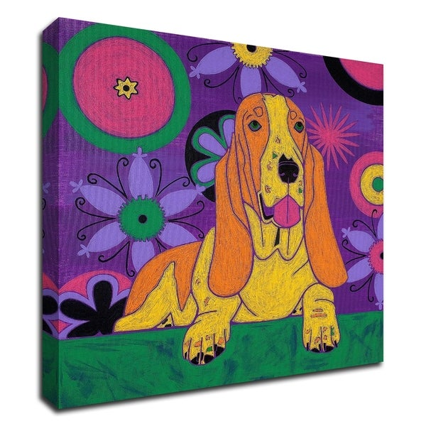 """Hush Puppeh"" by Angela Bond, Print on Canvas, Ready to Hang"