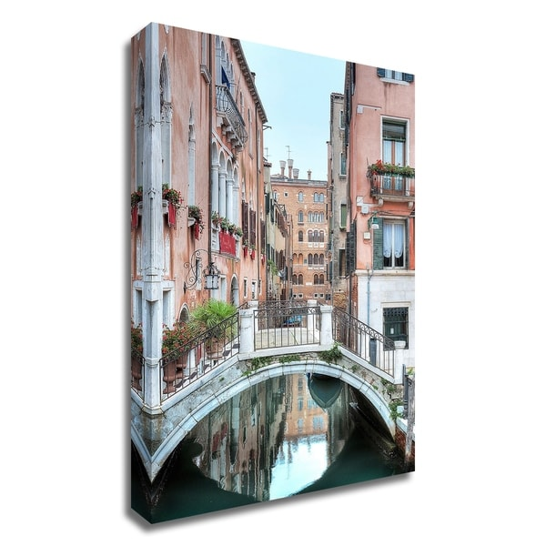 """""""Piccolo Ponte 2"""" by Alan Blaustein, Print on Canvas, Ready to Hang"""