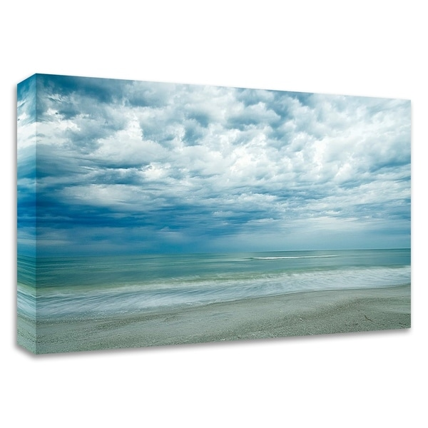 """Morning at the Beach"" by Chuck Burdick, Print on Canvas, Ready to Hang"