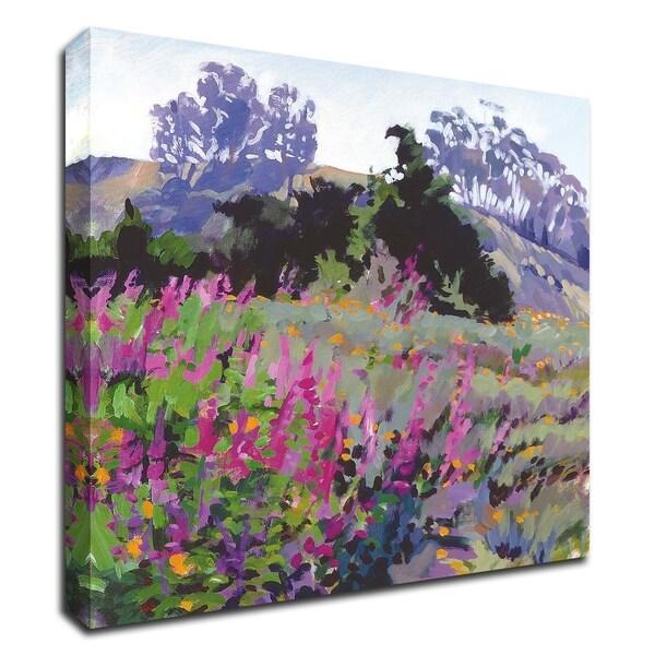 """Spring Haze, Eucalyptus on the Ridge"" by Marcia Burtt, Print on Canvas, Ready to Hang"
