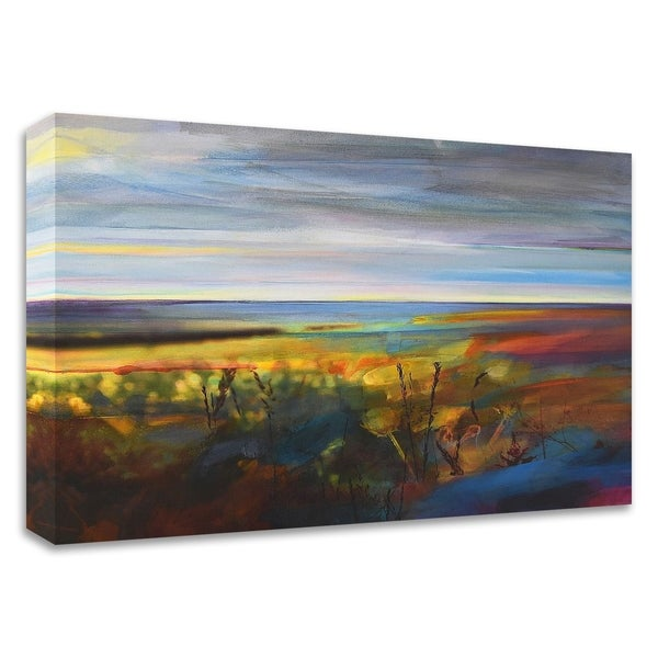 """""""Buttercups near Warley"""" by Kate Boyce, Print on Canvas, Ready to Hang"""