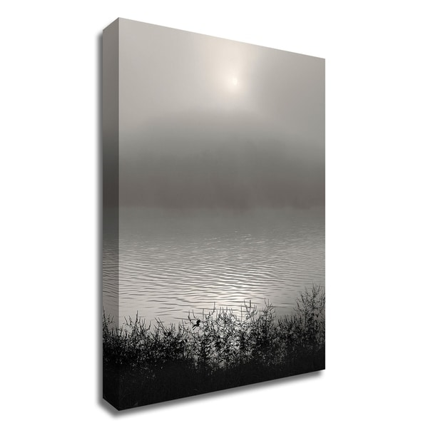 """""""Monochrome Sunrise"""" by Nicholas Bell, Print on Canvas, Ready to Hang"""