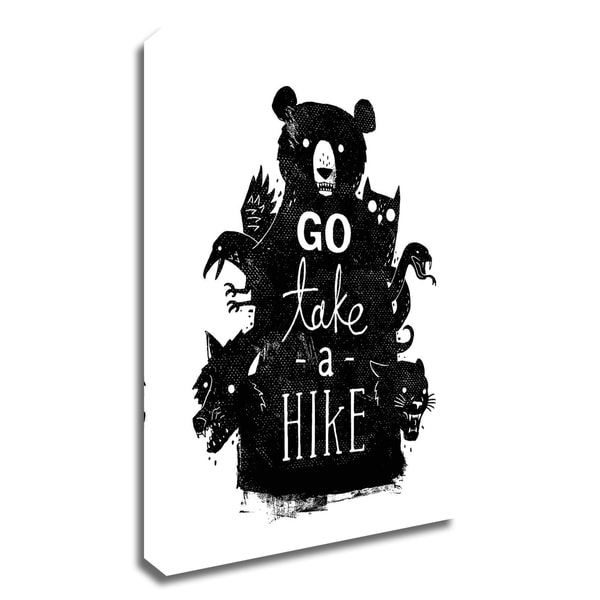 """""""Go Take a Hike"""" by Michael Buxton, Print on Canvas, Ready to Hang"""