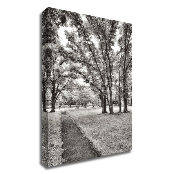 """""""Garden Pathway No.1"""" by Alan Blaustein, Print on Canvas, Ready to Hang"""