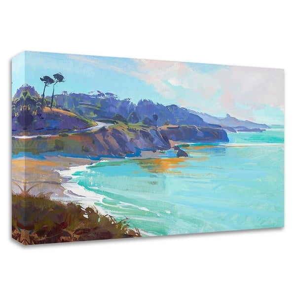 """Mendocino Overlook"" by Marcia Burtt, Print on Canvas, Ready to Hang"
