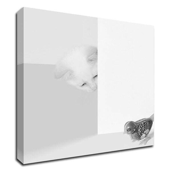 """Peek a Boo"" by Jon Bertelli, Print on Canvas, Ready to Hang"