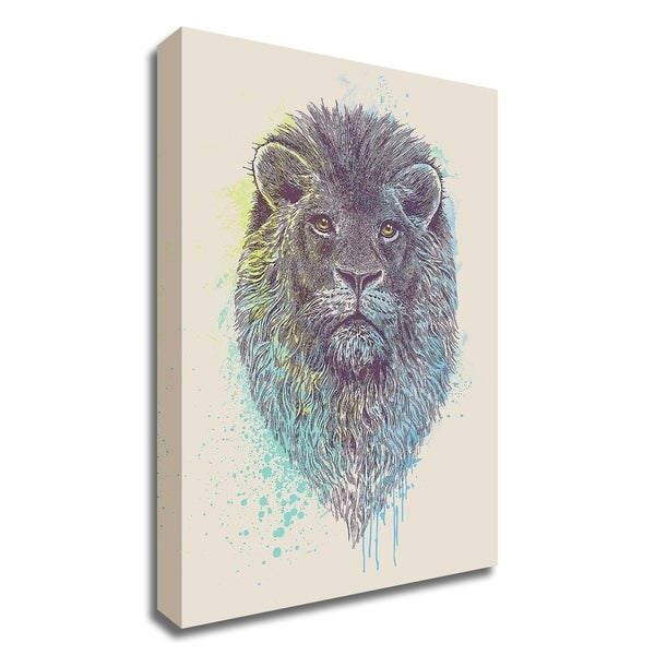 """""""Lion King"""" by Rachel Caldwell, Print on Canvas, Ready to Hang"""