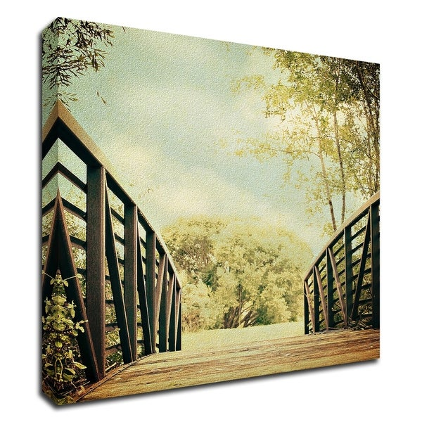 """""""Bridge to Paradise"""" by Sylvia Coomes, Print on Canvas, Ready to Hang"""