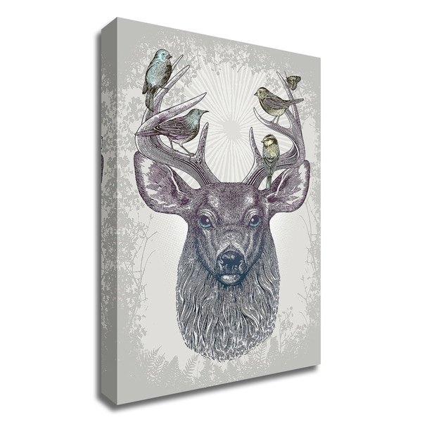 """Magic Buck"" by Rachel Caldwell, Print on Canvas, Ready to Hang"