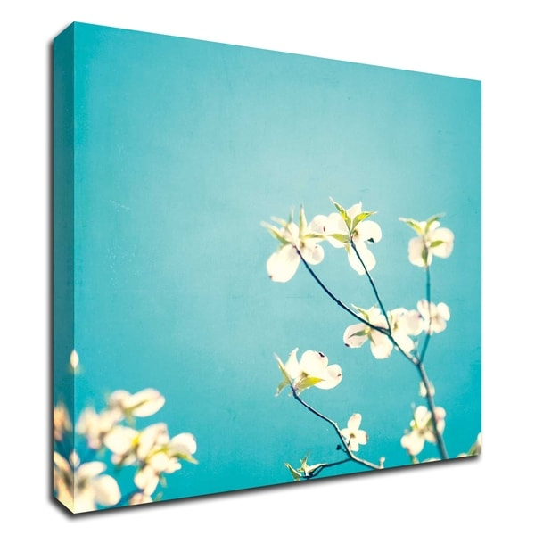 """""""Delicate"""" by Carolyn Cochrane, Print on Canvas, Ready to Hang"""