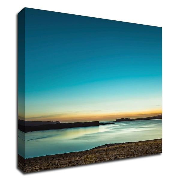 """""""Serenity Loch Harport"""" by Lynne Douglas, Print on Canvas, Ready to Hang"""