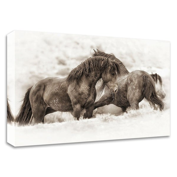 """Brothers"" by Lisa Dearing, Print on Canvas, Ready to Hang"