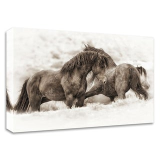 """""""Brothers"""" by Lisa Dearing, Print on Canvas, Ready to Hang"""