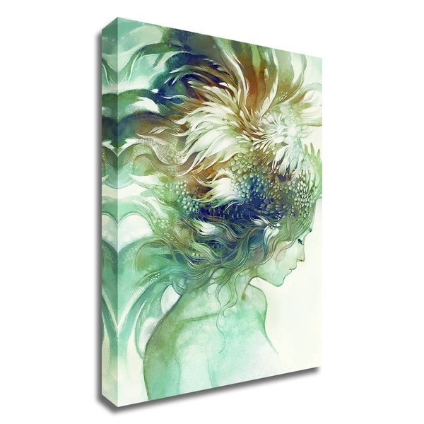 """Comb"" by Anna Dittman, Print on Canvas, Ready to Hang"