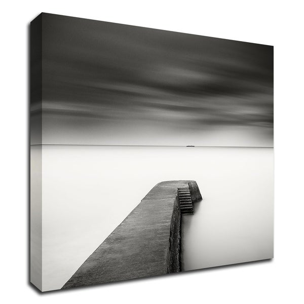 """""""The Jetty-Study 1"""" by Wilco Dragt, Print on Canvas, Ready to Hang"""