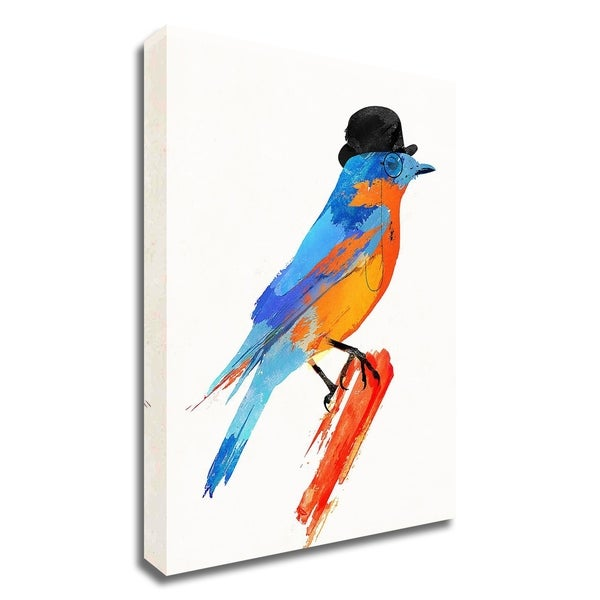 """""""Lord Bird"""" by Robert Farkas, Print on Canvas, Ready to Hang"""