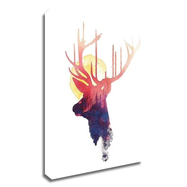 """""""The Burning Sun"""" by Robert Farkas, Print on Canvas, Ready to Hang"""
