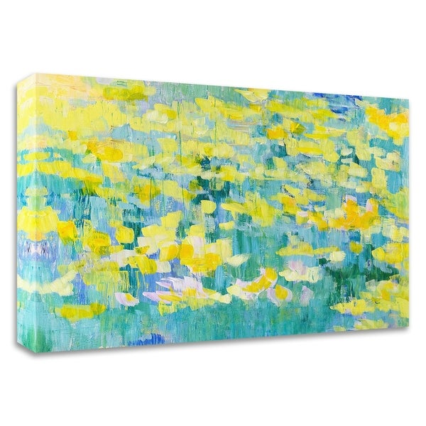 """""""And They Were All Yellow"""" by Tamara Gonda, Print on Canvas, Ready to Hang"""