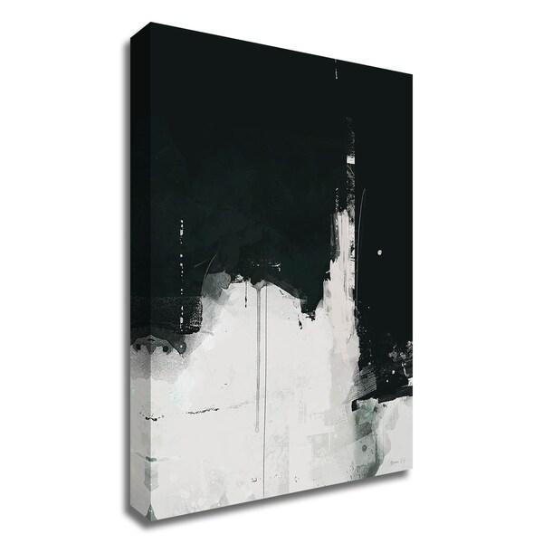 """Nightfall"" by Green Lili, Print on Canvas, Ready to Hang"