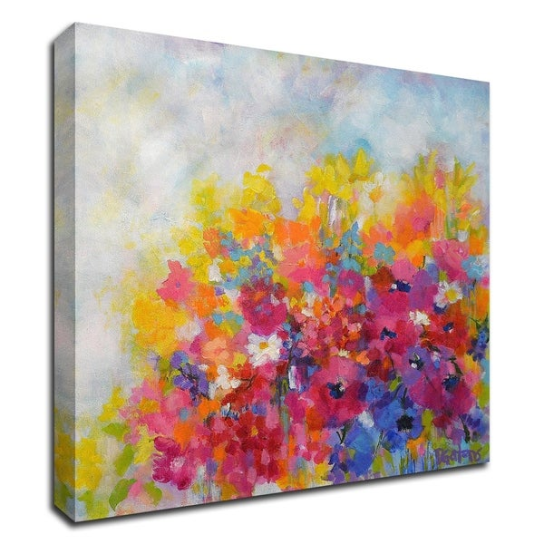 """""""Garden at Millefiori"""" by Pamela Gatens, Print on Canvas, Ready to Hang"""