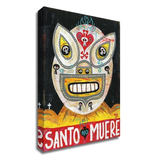 """""""Santo"""" by Jorge R. Gutierrez, Print on Canvas, Ready to Hang"""