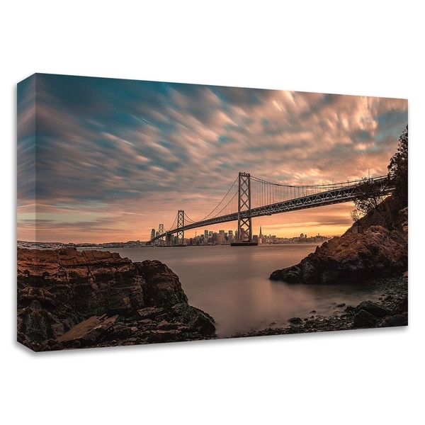 """""""San Francisco's Stretch"""" by Bruce Getty, Print on Canvas, Ready to Hang"""