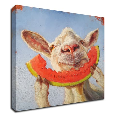 """""""Summer Treat"""" by Lucia Heffernan, Print on Canvas, Ready to Hang"""