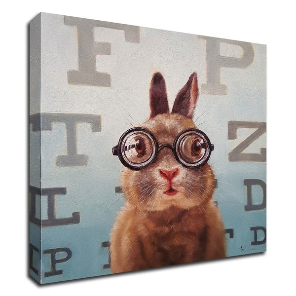 """""""Four Eyes"""" by Lucia Heffernan, Print on Canvas, Ready to Hang"""
