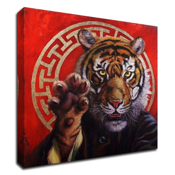 """""""Legend of Tiger Claw"""" by Lucia Heffernan, Print on Canvas, Ready to Hang"""