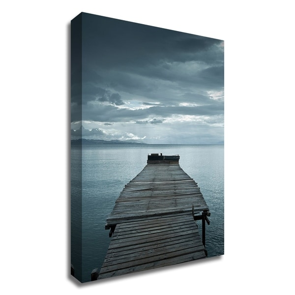 """Dock 1"" by PhotoINC Studio, Print on Canvas, Ready to Hang"