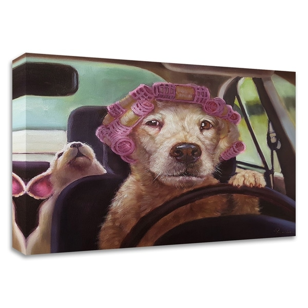 """Mommy Chauffeur"" by Lucia Heffernan, Print on Canvas, Ready to Hang"