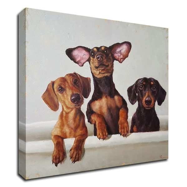 """""""3 Amigos"""" by Lucia Heffernan, Print on Canvas, Ready to Hang"""