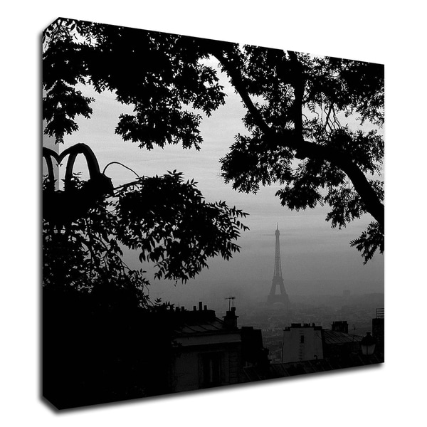 """Eiffel Tower View 1"" by PhotoINC Studio, Print on Canvas, Ready to Hang"