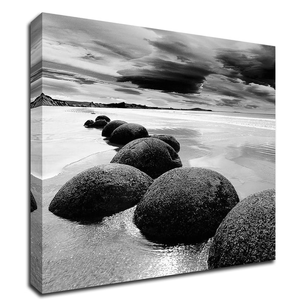 """""""Enigmatic Shore"""" by PhotoINC Studio, Print on Canvas, Ready to Hang"""