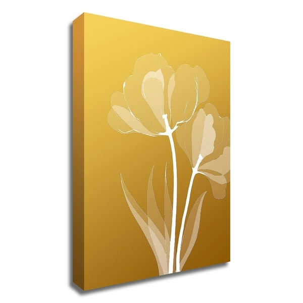 """""""Floral 6"""" by GraphINC Studio, Print on Canvas, Ready to Hang"""