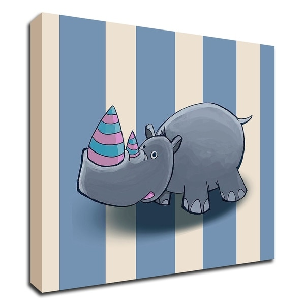 """""""Rhino"""" by GraphINC, Print on Canvas, Ready to Hang"""